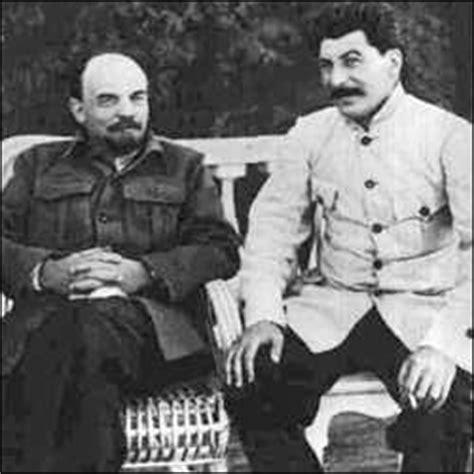 Dudas Lenin Stalin y Trotsky