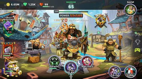 Dungeon Legends - PvP Action MMO RPG Co-op Games - Android ...