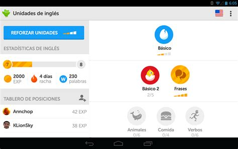 Duolingo   idiomas Gratis aplicación Móvil
