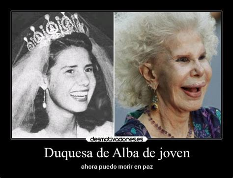 Duquesa de Alba de joven | Desmotivaciones