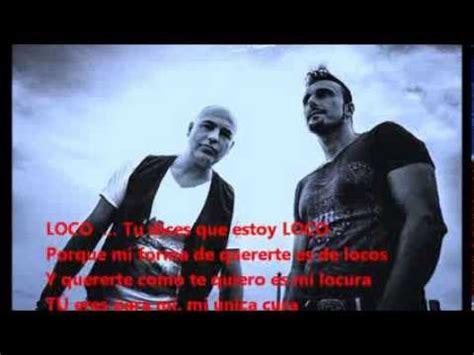 DURANO LOCO con letra - Lyrics ( Balada romántica ) - YouTube