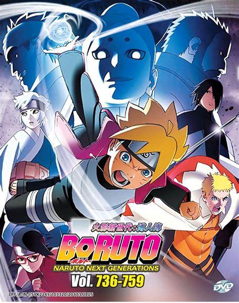 DVD Boruto Naruto Shippuden Next Generations Box 26 V.736 ...
