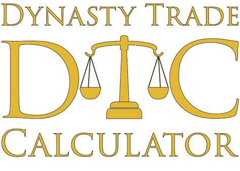 Dynasty Trade Calculator — Steemit