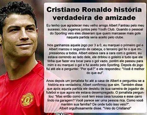 É real a história de Cristiano Ronaldo e Albert Fantrau?