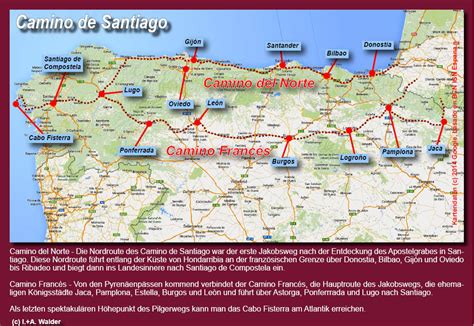 E Spanien   Camino del Norte, Jakobsweg ***   online ...