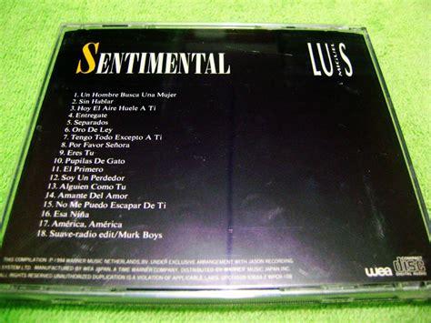 Eam Cd Luis Miguel Sentimental 1994 Lo Mejor + Remix ...