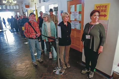 Early Santa Fe County voters weigh in | Local News ...