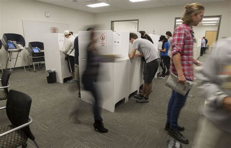 Early votes pour in before Election Day   Rancho Santa Fe ...