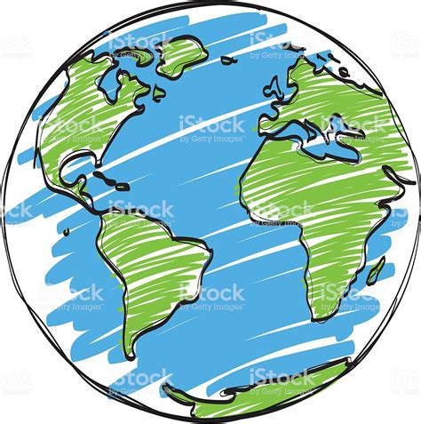 Earth Cartoon Vector Stock Vector Art & More Images of ...