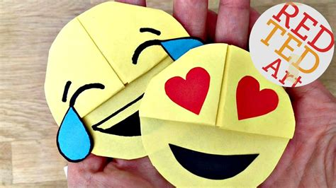 Easy Emoji DIY Bookmark Corners  Paper Crafts    YouTube