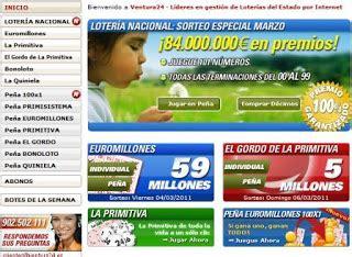 Echar quiniela por internet - Lotería primitiva nacional y ...