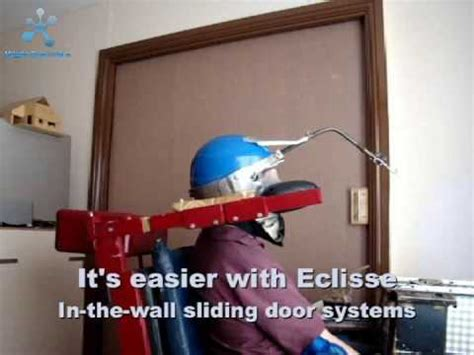Eclisse sliding door systems for disabled people   YouTube
