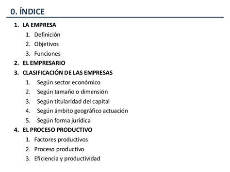 Economía 4ºESO   UD3. La empresa I