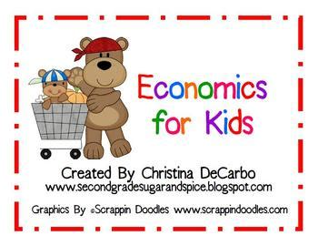 Economics Unit for Kids by Miss DeCarbo | Teachers Pay ...
