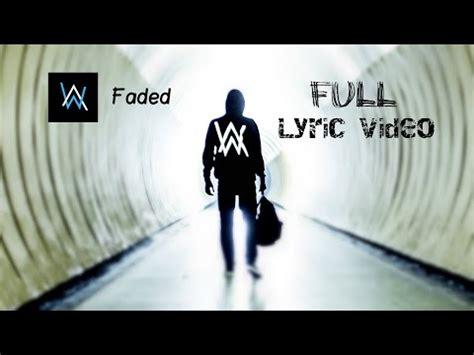 Ecouter et télécharger Alan Walker - Faded ( Lyrics ...