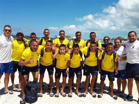 Ecuador debuta en la Copa del Mundo de fútbol playa ...