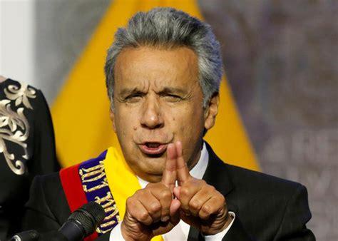 Ecuador: Moreno convocó a un referendo para suprimir la ...