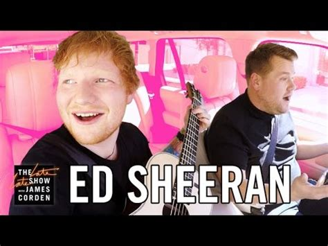 Ed Sheeran Carpool Karaoke   YouTube