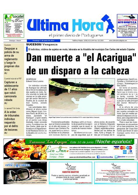 Edicion07 06 2015 by Ultima Hora - El primer diario de ...