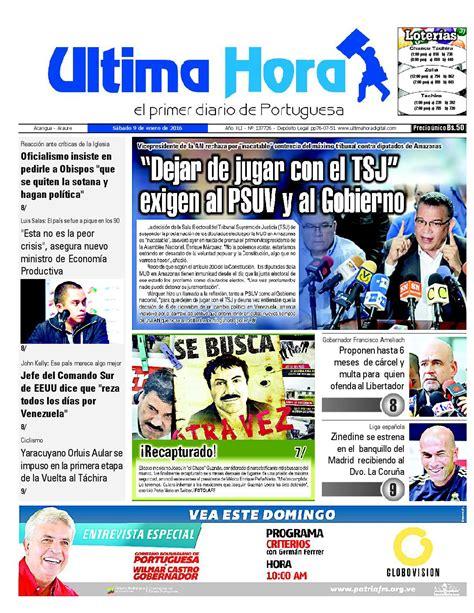 Edicion09 01 16 by Ultima Hora - El primer diario de ...