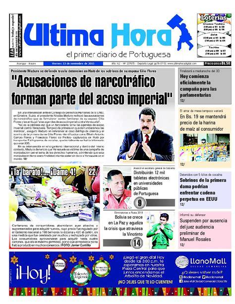 Edicion13 11 2015 by Ultima Hora - El primer diario de ...