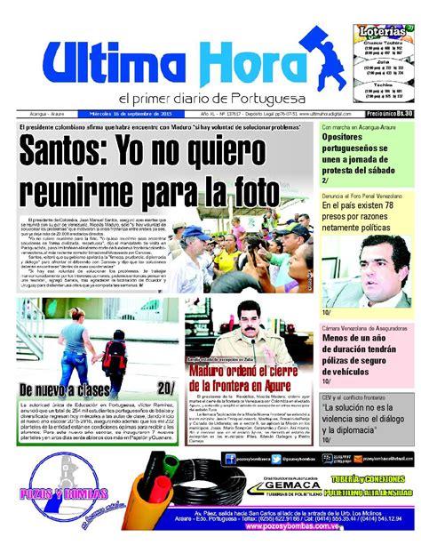 Edicion16 09 2015 by Ultima Hora - El primer diario de ...