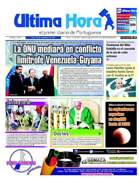 Edicion28 09 2015 by Ultima Hora - El primer diario de ...