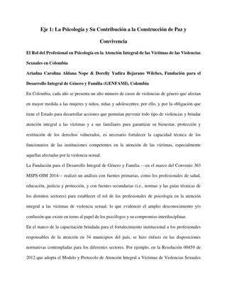 Edicionresumenescongreso2015 trabajoslibres  by Colegio ...