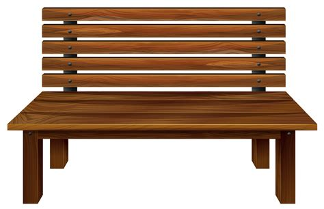 Edit and free download Wooden Bench PNG Clipart Image