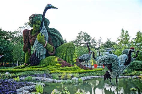 EDIT : Balade : Les mosaïcultures du jardin botanique de ...