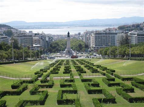 Eduardo VII, popular parque en el centro de Lisboa