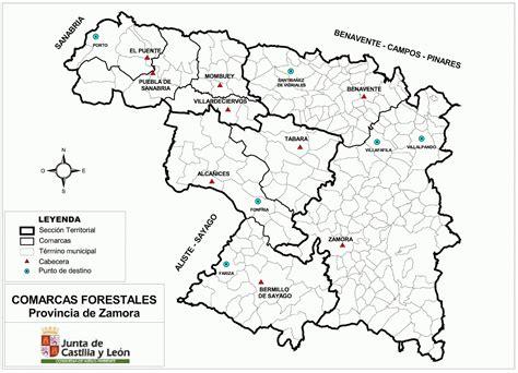 Educación Forestal: Comarcas forestales de la provincia de ...