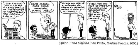 EDUCANDO COM O CORAÇÃO: Mafalda em  A notícia do jornal ...