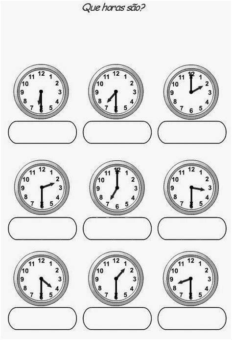 Educar X: Relógio para montar e colorir