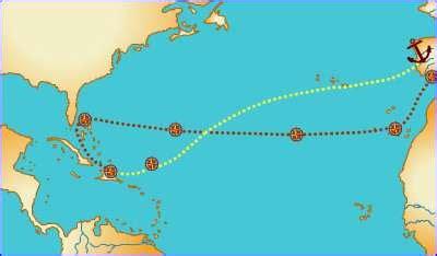 Educarchile   Cristobal Colon desembarca en America