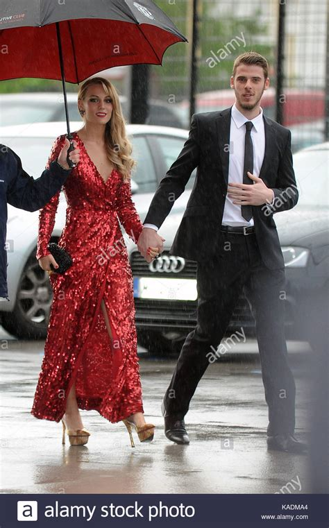 Edurne and David De Gea. David De Gea and his girlfriend ...