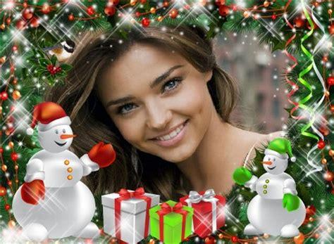 Efectos navideños para fotos | Editar Fotos Gratis