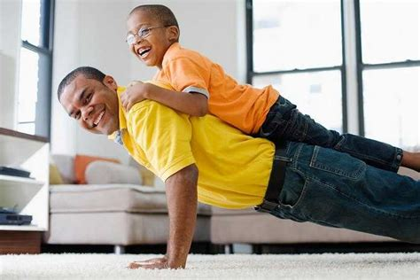 Efficient and Fun Daily Workout Routine for Dads and Kids ...