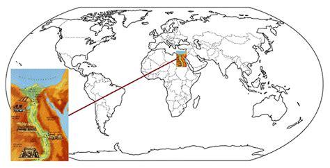Egipto: Ubicación geográfica   SocialHizo