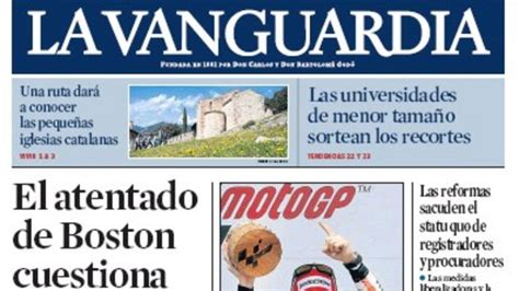 EGM:  La Vanguardia  se consolida como tercer diario de España