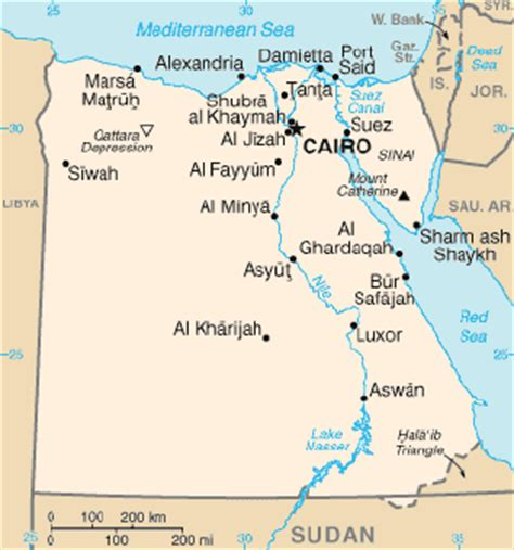 Egypt - GEOGRAPHY