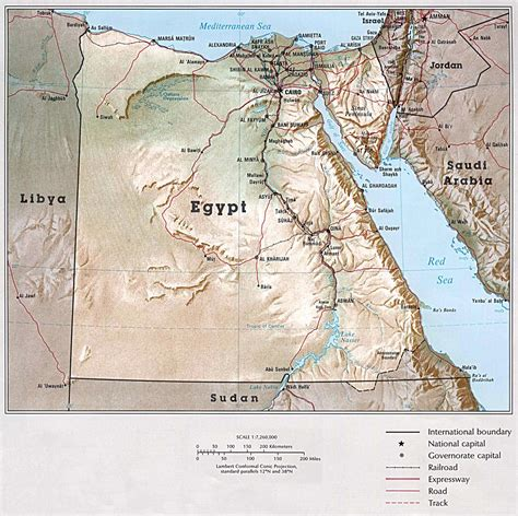 Egypt Maps | Printable Maps of Egypt for Download
