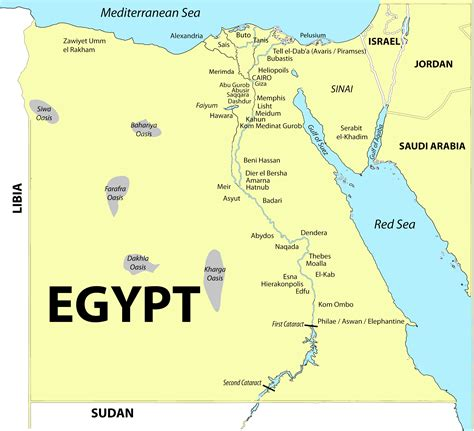 Egypt - Merimde the area which are studied and which are ...