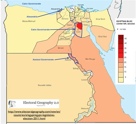 Egypt's Electoral Geography Revealed | GeoCurrents