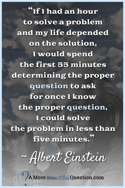 Einstein Quotes - Question Week : Question Week