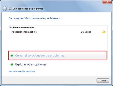 Ejecutar programas creados para versiones anteriores de ...