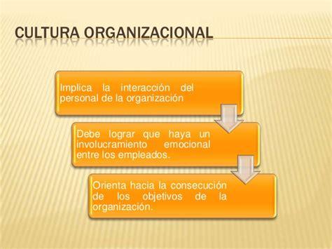 ejemplo de cultura organizacional cultura organizacional y ...