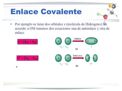 ejemplo de enlace covalente polar ejemplo de enlace ...