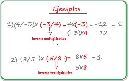 Ejemplos de números racionales