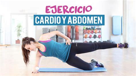 Ejercicio de cardio y abdomen | 10 minutos   YouTube